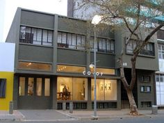 68 Juta Street - Play Braamfontein Modern Buildings, Image Search, Mansions, House Styles, Outdoor Decor, Play, Home Decor, Jute, Decoration Home