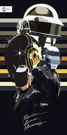 Daft Punk RAM by ~elcadejoblanco on deviantART