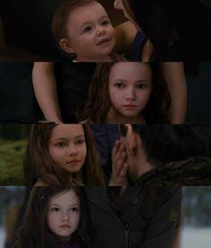 Breaking Dawn part Renesmee Vampire Twilight, Twilight New Moon, Twilight Pictures, Twilight Series, Helen Mirren, Christopher Nolan, Keira Knightley, Series Movies, Book Series