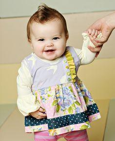 Matilda Jane Clothing ~ Good Hart ~   LILAC LUSH SARA TOP