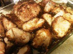 Brown Sugar Glazed Pork Tenderloin