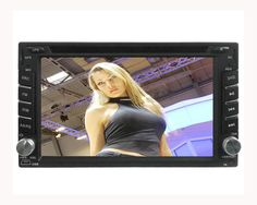In-Car DVD Player 2 Din 6.2 Inch TFT HD Screen with Bluetooth  $176.81