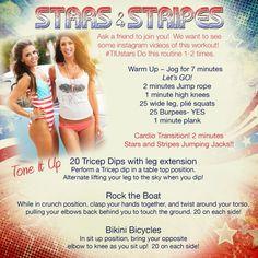 Tone It Up!  Stars & Stripes