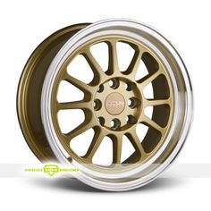 Gold Racing Rims