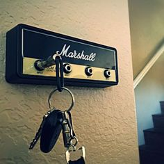 FOR THE HOME :: Marshall Guitar Amp Key Holder - Shut Up And Take My Money Store!