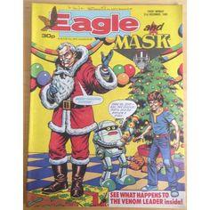 Eagle & Mask 31st December 1988 UK Paper Comic Sci Fi