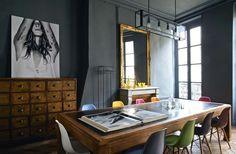 Home decor apartment Interior Decorating, Interior Design, Deco Design, Dream Decor, Beautiful Interiors, Black Interiors, Eclectic Decor, Home Living Room, Living Spaces