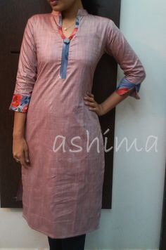 Code:2011150- Silk Cotton Kurta- Price INR:790/- All sizes available. Free shipping to all courier destinations in India. Online payment through PayUMoney / PayPal