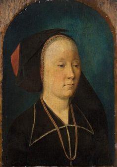ab. 1489-1491 Michiel Sittow - Portrait of a woman