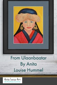 I love to paint women of the world and so this painting was inspired by a trip I took to Mongolia. I was amazed by the beauty of the country and the people. This painting is an oil with gold leafing for the gold earrings. #artsale #art #artwork #artforsale #artist #contemporaryart #painting #artgallery #artistsoninstagram #abstractart #artoftheday #sale #instaart #artcollector #fineart #modernart #originalart #buyart #gallery #drawing #acrylicpainting #interiordesign #ArtThatMakesYouSmile People Art, Love People, Prints For Sale, Art For Sale, Buy Art, Modern Art, Contemporary Art, Gold Leaf, Love Art