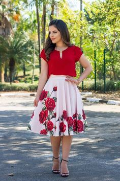 Cute Dresses, Tops, Shoes, Jewelry & Clothing for Women Mode Outfits, Skirt Outfits, Dress Skirt, The Dress, Midi Skirt, Modest Fashion, Fashion Dresses, Church Outfits, Work Attire