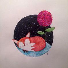 El zorro y la flor