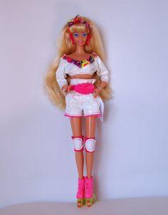 Barbie rollerblade 1992