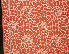 Coral seashell fabric ocean sea shell modern graphic from Brick House Fabric: Novelty Fabric Fan Image, Coral Fabric, Novelty Fabric, Sea Theme, Fabulous Fabrics, Moorish, Nursery Themes, Beach Themes, Sea Shells