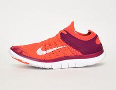 #Nike Free Flyknit 4.0 WMNS Purple Red #sneakers