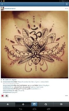 #Lotus #Tattoo #inked this on a smaller scale inside the hamsa