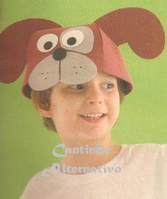 Olá amigos, vejam só que gracinhas essas mácaras chapéus de Os Saltimbancos para confeccionar em EVA e com moldes! ...
