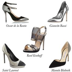 Metallic Shoes for Fall: Silver Linings Playbook