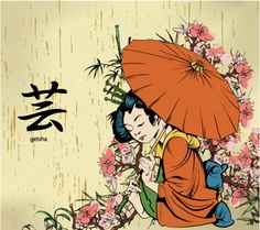Geisha bark