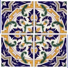Galleries - A2-Spanish design tiles - 302-Alicante 4 tile