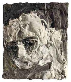 Frank Auerbach (b. 1931), Portrait of Leon Kossoff, 1953, oil on board, 16 x 14cm