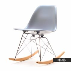 Krzesło bujane MPC ROC szare Sit Back And Relax, Rocking Chair, Chairs, Furniture, Design, Home Decor, Products, Chair Swing, Rocking Chairs