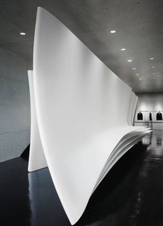 hot sale online 1cd59 0e630 The Neil Barrett Tokyo flagship store is a futuristic retail space that  exemplifies in the best way Zaha Hadid s signature architectural style.