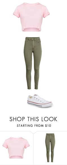 """december 8"" by ottoca on Polyvore featuring Converse"