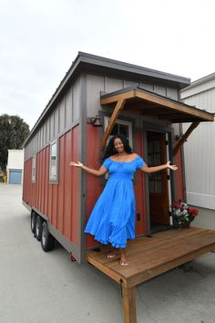 "Meet Chicago's first tiny house resident: Toni Shelton. Toni, aka ""Disco Toni,"" owns an event planning/promotions/photography business. She's a 5-time serial entrepreneur fr…"