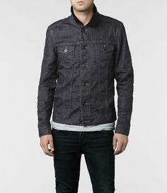 AllSaints Yin Denim Jacket | Mens Jackets