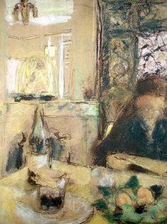 The Mother of the Artist Reading (pastel), Vuillard, Edouard (1868-1940)
