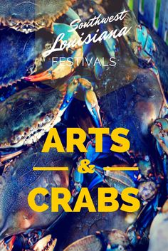 "It's one of the ""must-experience"" events in Southwest Louisiana.   Make plans now to attend the 2015 Arts & Crabs Fest. #visitlakecharles"