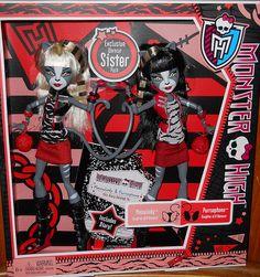 HAVE: Monster High Werecat Twins