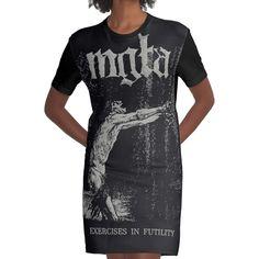 Metal Shirts, Black Clothes, Band Shirts, Metal Bands, Black Metal, Shirt Dress, T Shirt, Designer Dresses, Range