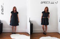 Transformation d'une vieille robe
