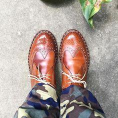 Heinrich Dinkelacker  家にいるつもりでしたがちょっとだけ出てきます #heinrichdinkelacker #cordovan #shoes #mensshoes #sotd #shoesoftheday #ハインリッヒディンケラッカー #ハインリッヒディンケルアッカー #コードバン #紳士靴 #革靴