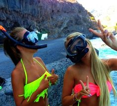 Besties ♡ @megansoliday next summer we need swim suits similar to these!!!