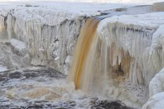 The #Jägala_Waterfall is a #waterfall in Northern #Estonia on Jägala River. It is the highest natural waterfall in Estonia with height about 8 meters.
