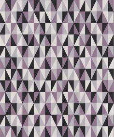 Trendig tapet med geometriskt mönster från kollektionen Livium LIV405. Klicka för att se fler inspirerande tapeter för ditt hem!