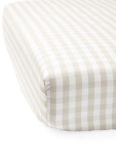 Gingham Crib Sheet - Serena & Lily Site