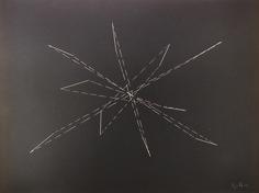 Vincenzo Agnetti, 1926 – 1981 Photo-Graffia, 1979 incisione su carta fotografica, 30,2 x 40,3 cm.   Galleria civica di Modena