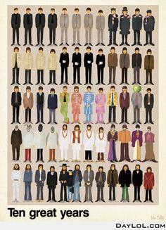 Ten years of The Beatles