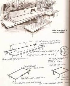 1000 Images About Mid Century Modern Furniture Decor On