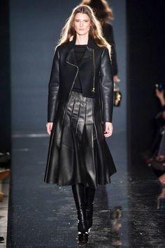 Porsche Design F/W 2014 Black skirt  Fashion week