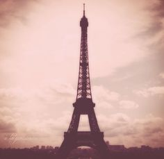"""Pink Eiffel"" original photograph by Mandy Locke, available for sale. a la parisienne"