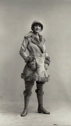 Rosie Campbell - 19 March 1919 - Photo by Bassano Ltd. - © National Portrait Gallery, London