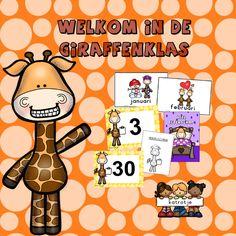 welkom in de giraffenklas met katrotje  Een vrolijk bestand voor in de kleuterklas
