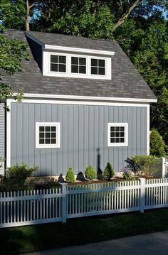 Photo of Gray Cottage Exterior project in Saratoga Springs NY by Witt Construction Exterior Paint Colors For House, Exterior Colors, House Colors, Exterior Design, Siding Colors, Board And Batten Exterior, Latte, Vertical Siding, Shed Dormer