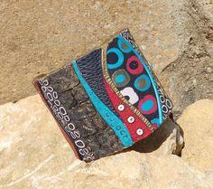 Bracciale Mosaico rigido in pasta polimerica fatto a di LuaNuu