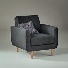 fauteuil vintage watford la redoute interieurs prix. Black Bedroom Furniture Sets. Home Design Ideas
